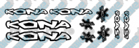Kona Roast Decal Set